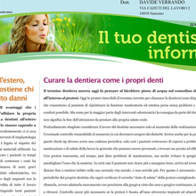 Curare la dentiera come i propri denti